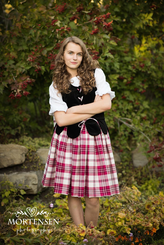 calgary highland dance teen photographer