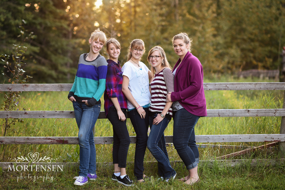 calgary teen portrait photographer high school grads friends