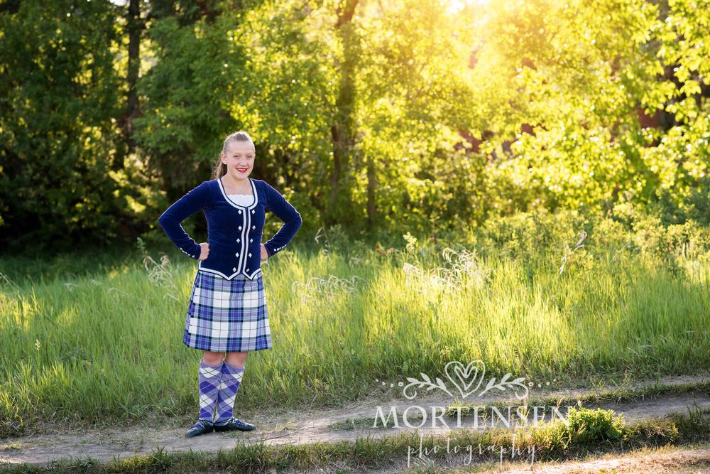 calgary highland dance & tween photographer