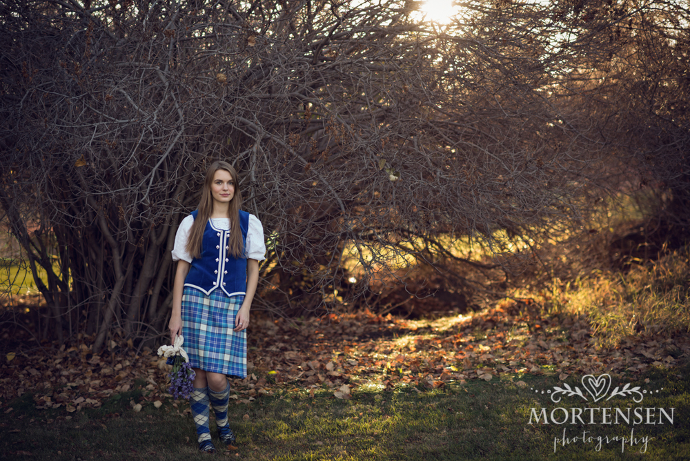 highland dance porrait photographer calgary