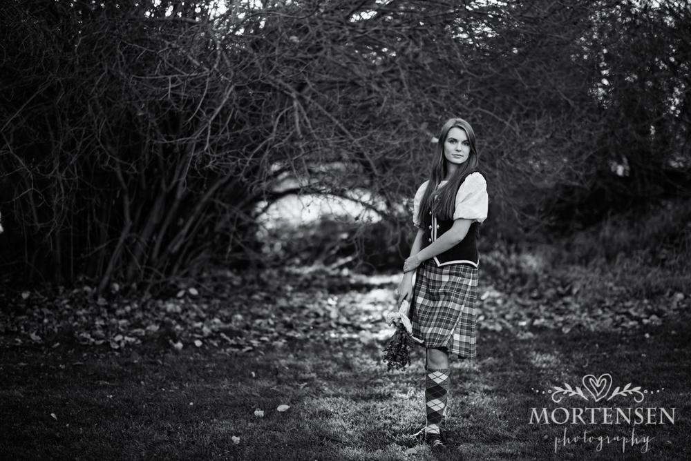 highland dance portrait photographer calgary