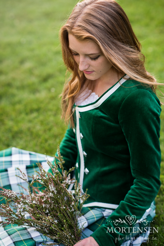 calgary highland dance teen tween portrait photography