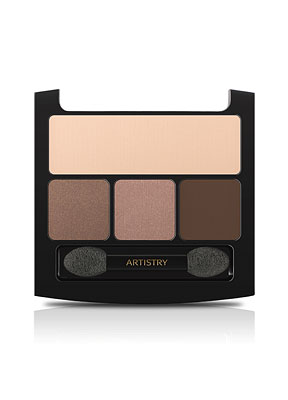 "Artistry Signature Eye Shadow Quad- ""Natural Glow"""