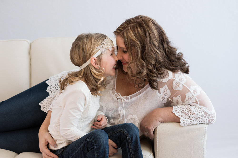 mother daughter family portrait photographer glamour beauty calgary yyc