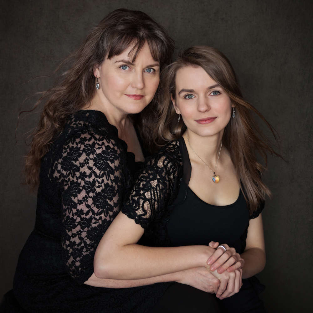 family mother daughter portrait photographer calgary yyc glamour beauty