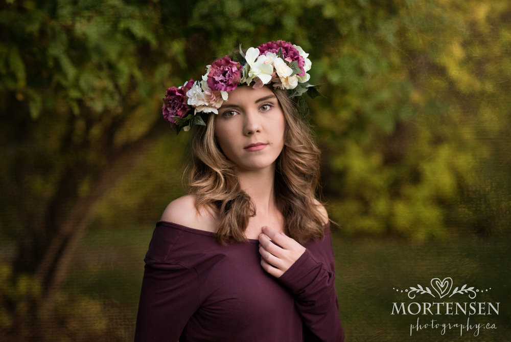 calgary teen beauty glamour graduation portrait photographer yyc grad photography
