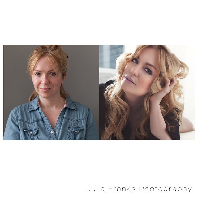 a beautiful before and after...new website coming soon #atlanta #portrait #photography #juliafranks #beforeandafter