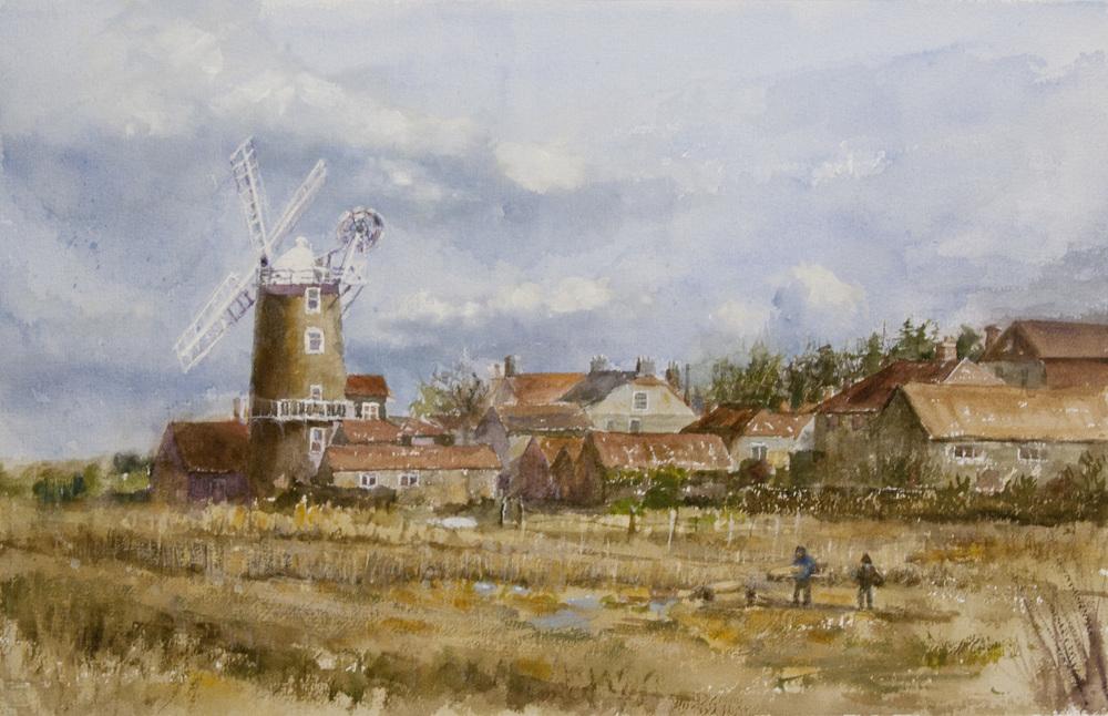 Norfolk England Windmill ptg003a.jpg