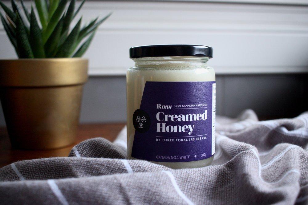 Creamed honey 500g