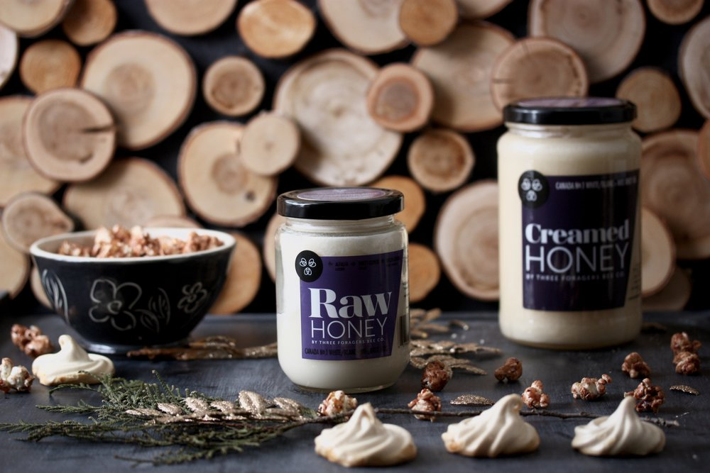 Raw and creamed honey 1kg