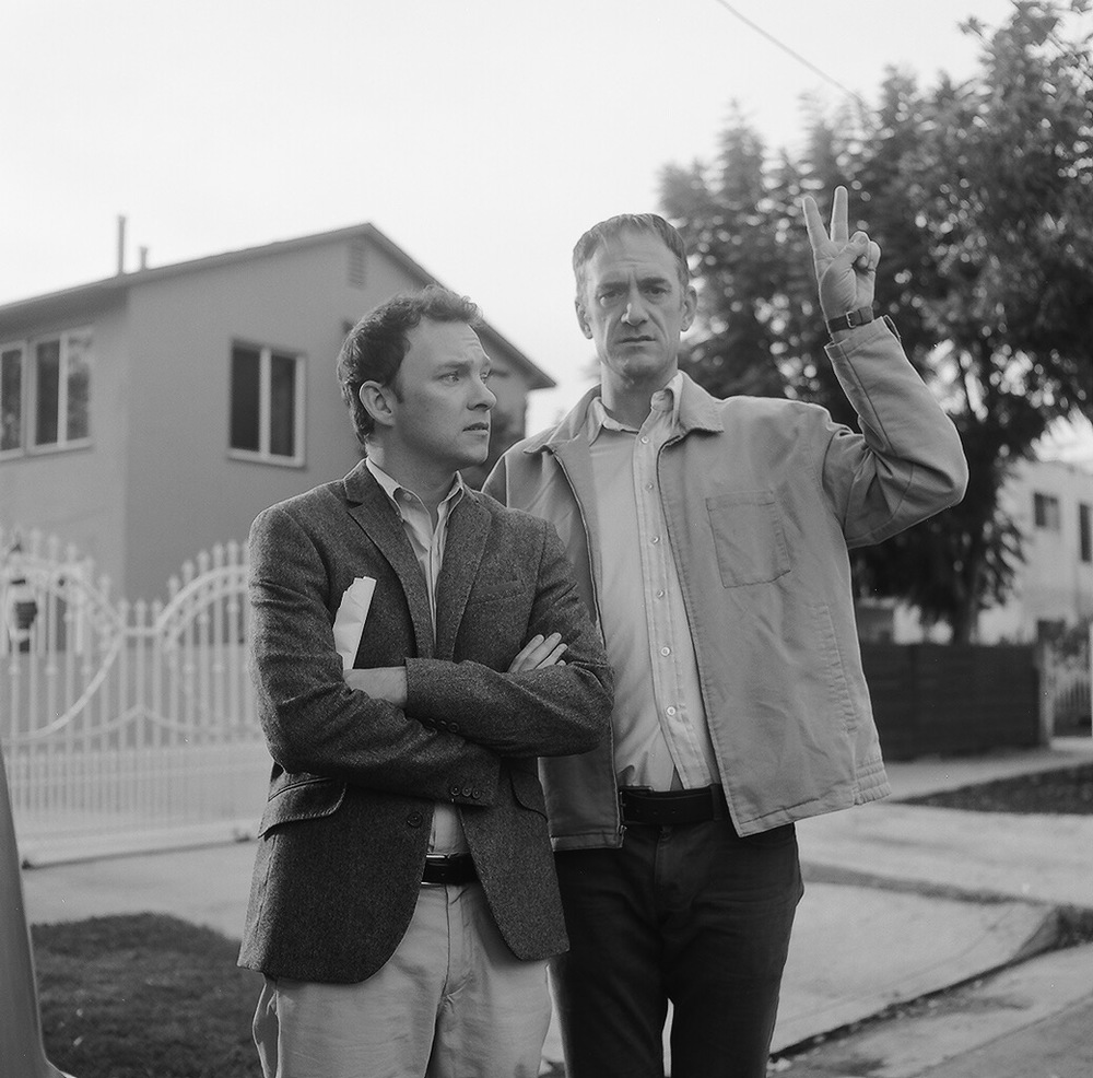 Nate Corddry and Seth Morris.