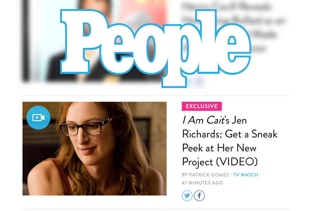 The trailer for  Her Story  premiered on  People.com .