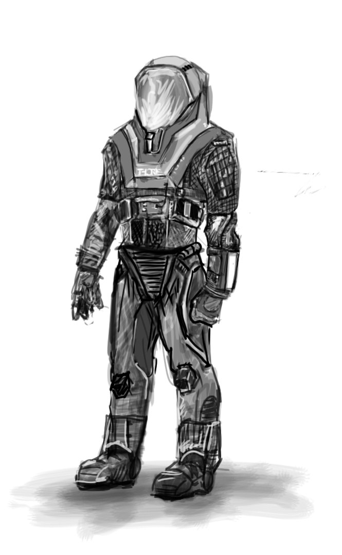 THORPE SPACESUIT