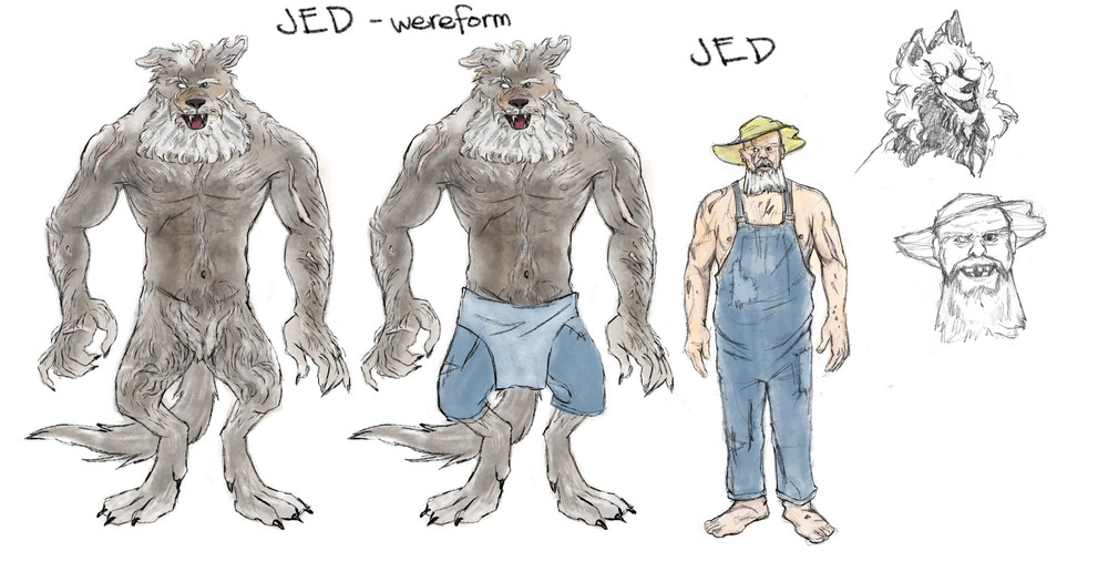 WERE-JED AND UNCLE JED