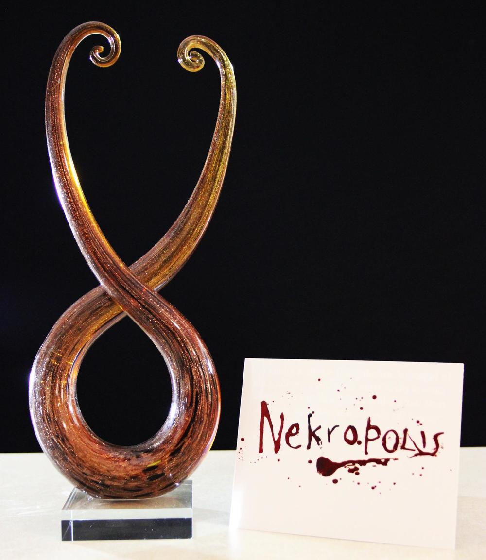Nekropolis   won Best Feature Script at the Columbia Gorge International Film Festival.