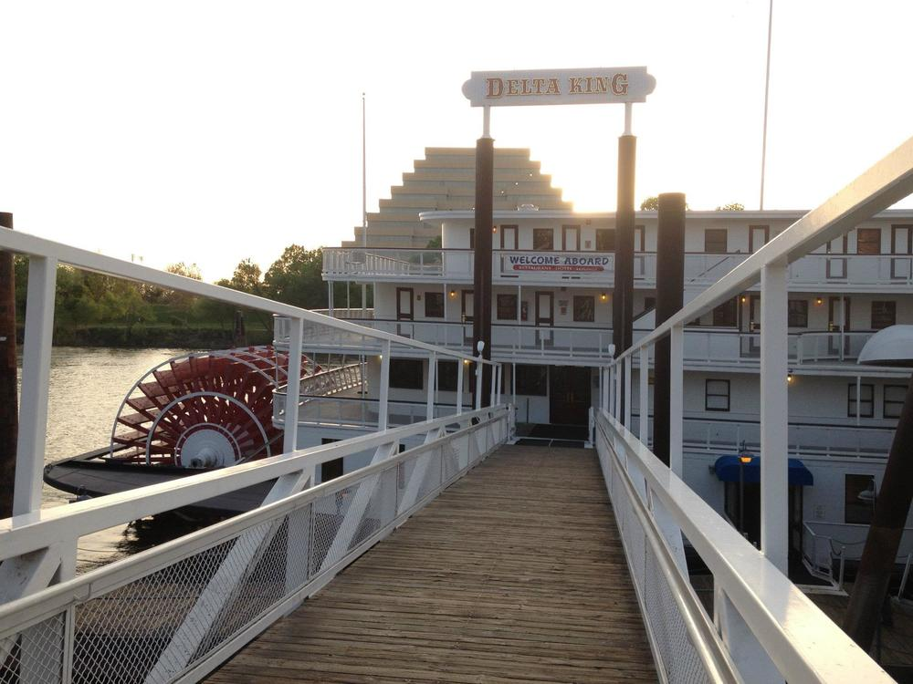 Co-writer Jason Beever had a chance to board the historic Delta King for the Sacramento International Film Festival.