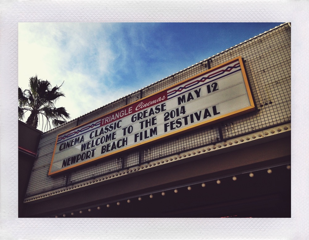 We screened at the Newport Beach Film Festival.