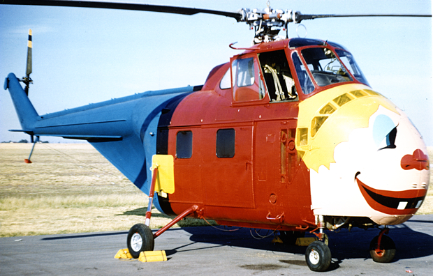 "The ""boy"" helicopters, nicknamed Henry, had faces painted on the nose. Sometimes the pilots would use giant stove pipes and straw hats to add character to Henry."
