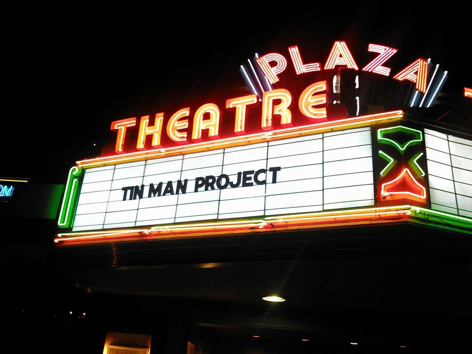 The director's cut screening of   The Tin Man Project   at the Plaza Theatre in Atlanta.