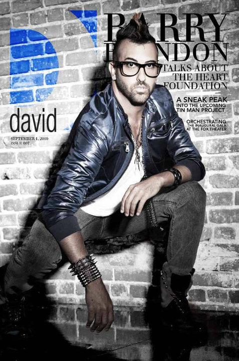 Barry Brandon was on the cover of D avid Atlanta ,the #1 LGBT magazine in Atlanta (September 1st, 2010).