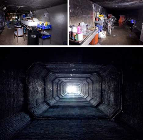 Off the Grid: From Squatting to Subterranean Living | Design + Ideas on WU