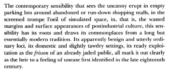 """Anthony Vidler - """"The Architectural Uncanny: Essays in the Modern Unhomely"""""""