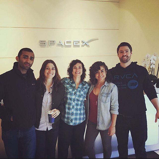 Always feels lucky to have our family visit us at work!  Got the royal treatment from @tedc1964 #california #spacex #latergram #regram