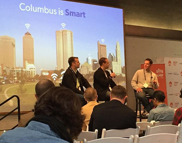 #Columbus Startup Week ftw! Amazing, thoughtful speakers, panels and presentations. Ready to go out and solve those big problems! #cmhstartupweek #lifeincbus
