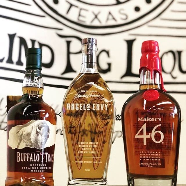 Fellow Pigs, we would like to take a moment to say Happy Father's Day to all those dads out there! And to those in need of a last minute gift idea...can't go wrong with any of these 3 bourbons! Have a happy and safe Father's Day weekend!  #bourbon #bourbongifts #happyfathersday #liquor #liquorstore #houstontx  #followtheblindpig