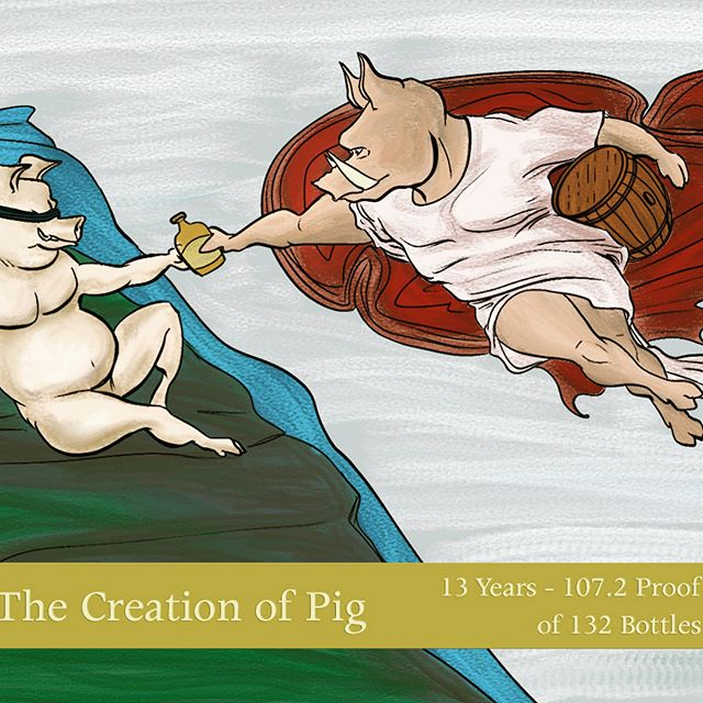 The time has come! This Friday, Blind Pig Liquor is proud to bring you our hand-selected Whistle Pig barrel (first image, bottle art). This pick is a 100% Alberta Rye, aged over 13 years, and bottled at Cask strength: 107.2 proof. This beauty was chosen by our selection team, comprised of Ryan Lore, Ben Martin, Chris Stewart, Evans Tabor, and Nathan Strubberg. We will be tasting* the barrel starting Friday afternoon and running until it sells out. Come by, try a sample, and bring home your own bottle to enjoy! Cheers, Pigs! *We will also be tasting a hard-to-find Whistle Pig 15-year Rye at the tasting bar along with our store pick all day.  #thecreationofpig #whiskey #ryewhiskey #whistlepig #whiskeypick #barrelpick #storepick #liquor #liquorstore #houstontx  #followtheblindpig