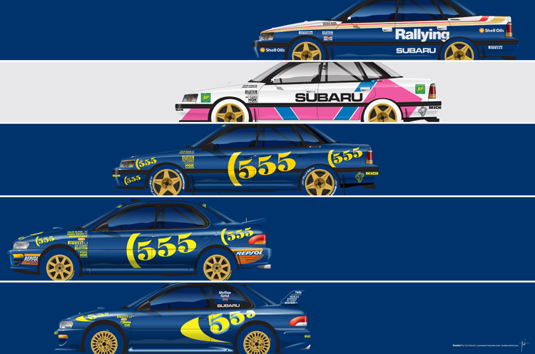 Colin McRae, The Subaru Years