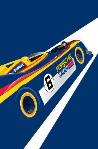 Mark Donohue, Porsche 917/30, 1973