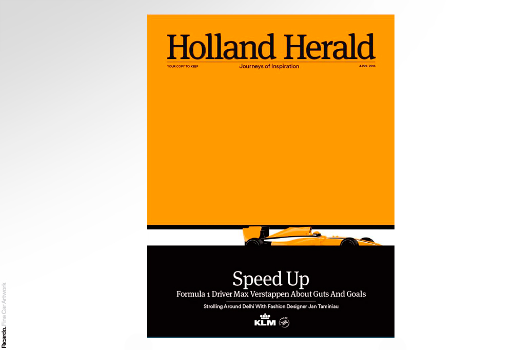 Illustration: F1 Client: Holland Herald, KLM magazine