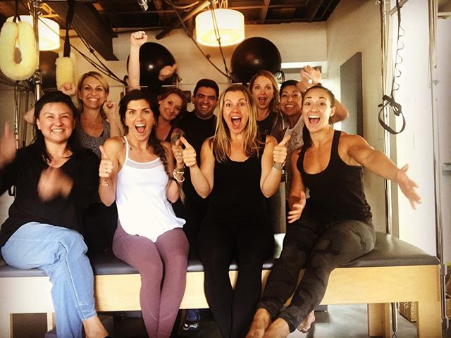 So proud of this group of teachers in training! 3 days together learning beginning- super advanced Cadillac exercises! So much fun! Are you interested in becoming a pilates instructor? Check out website for upcoming trainings! @balanced_body #pilatesinstructor #lovewhatyoudo #alignaustin