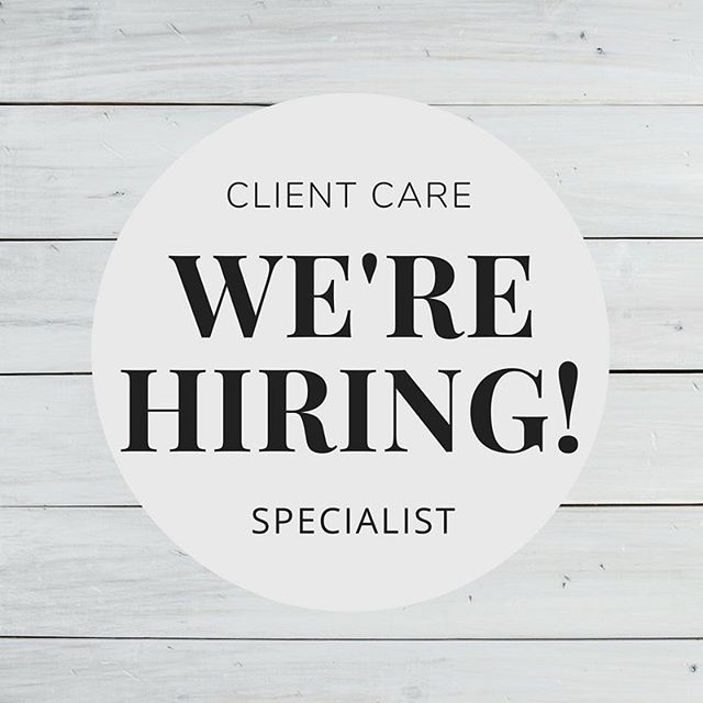 Do people make you curious? Never met a stranger? We are looking for a genuine, patient, hard working, self driven person to join our Client Care Specialist team! Send an email to info@alignaustin.com and let us know why you would be a good fit for our team.