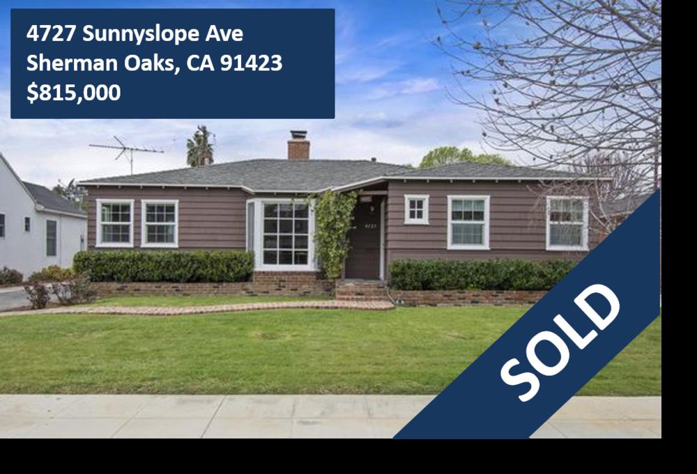 4727 Sunnyslope Ave, Sherman Oaks, CA 91423