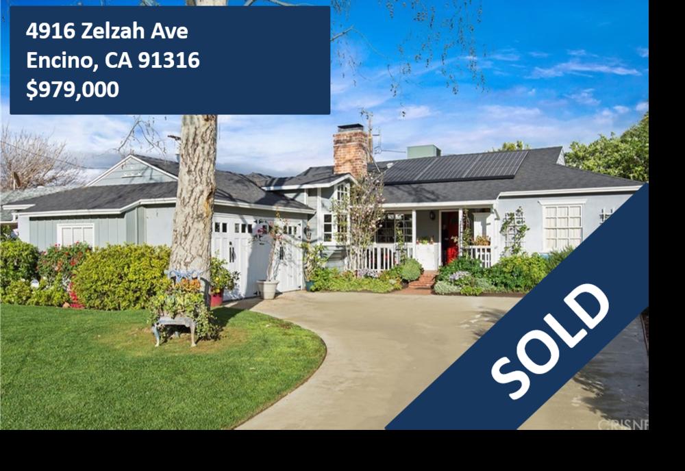4916 Zelzah Ave, Encino, CA 91316