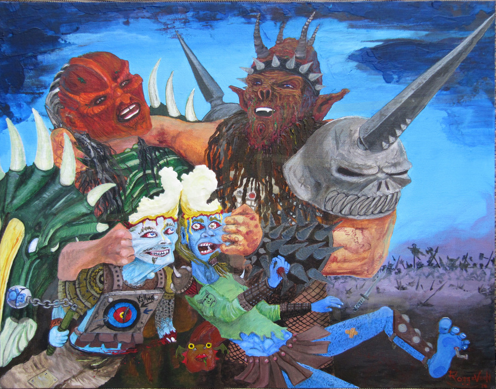 Oderus Urungus Corey Smoot Dave Brockie Flattus Maximus tribute by Erik Roggeveen