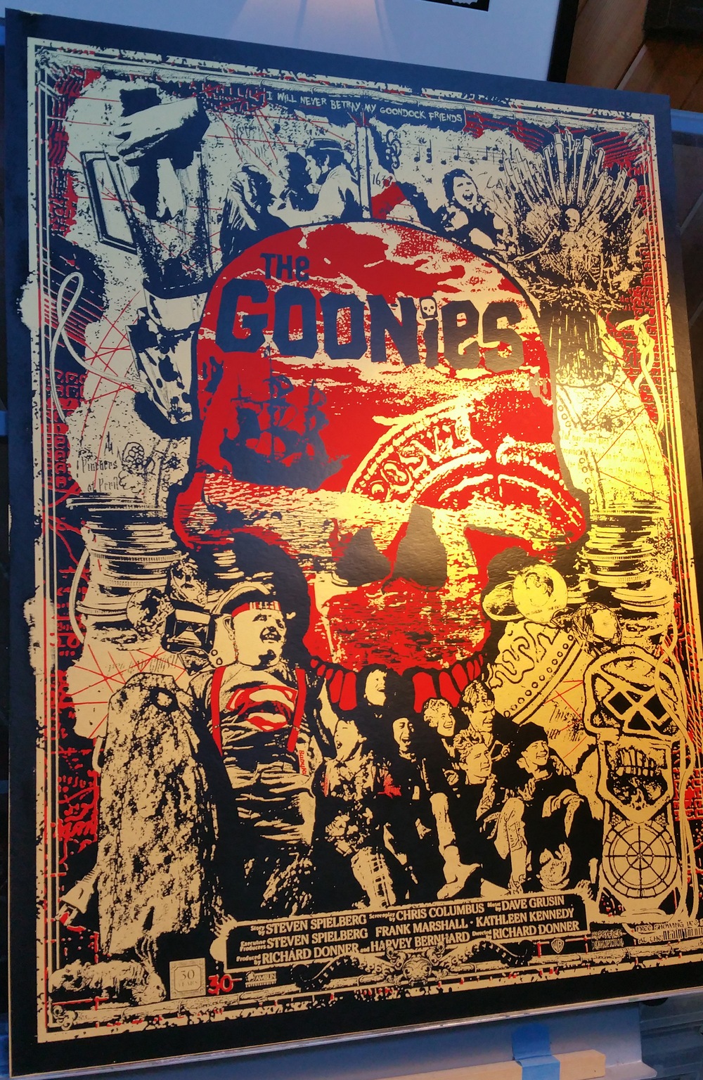 Hey you guys! It's the Goonies poster by Happyface Empire!