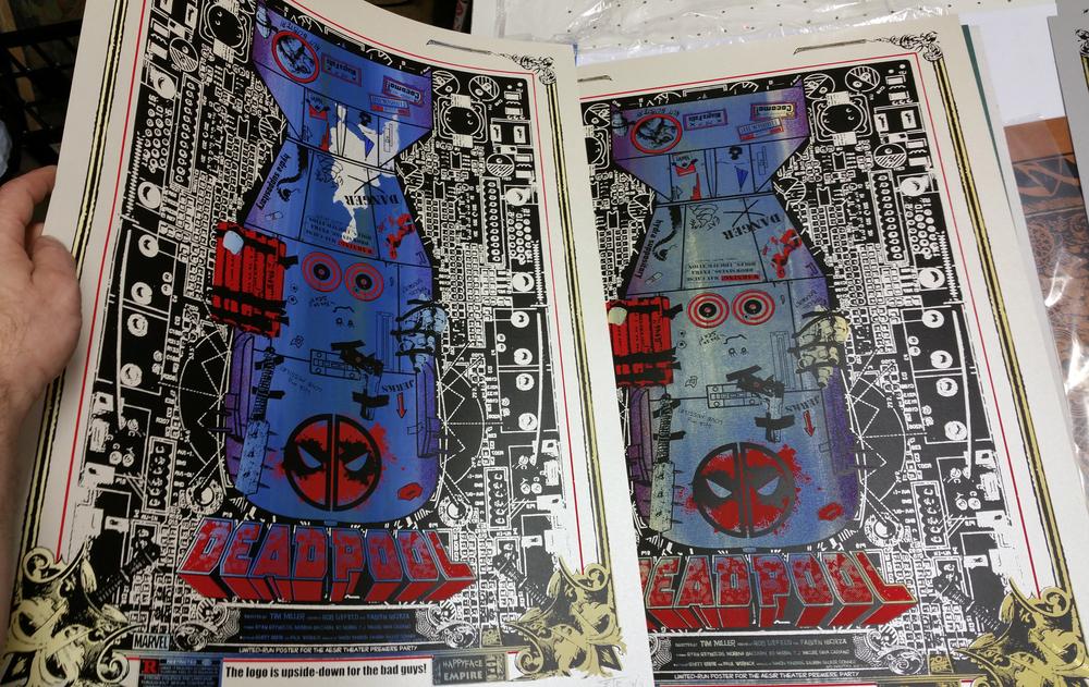 ALT Deadpool with Blue split-fountain!