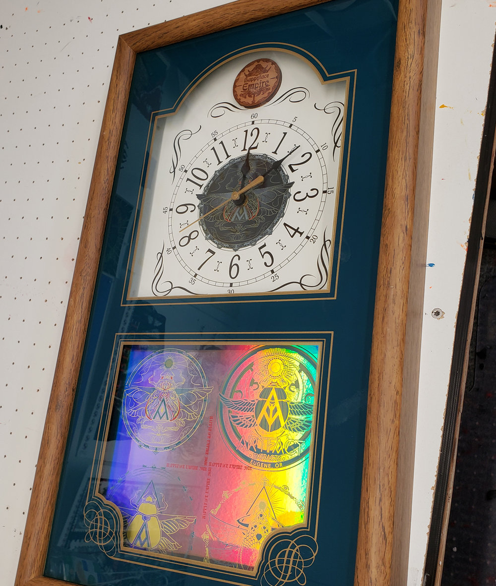 Function to Art - Puzzle boxes, hardwood triptychs, clockmaking, business cards, custom framing, plus we even have access to LASERS!