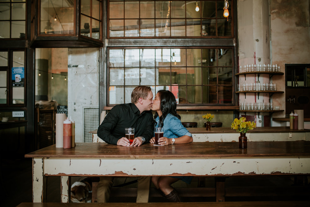 Penney and Chad San Francisco Engagament Session Brewery Mission Dolores_-6.jpg