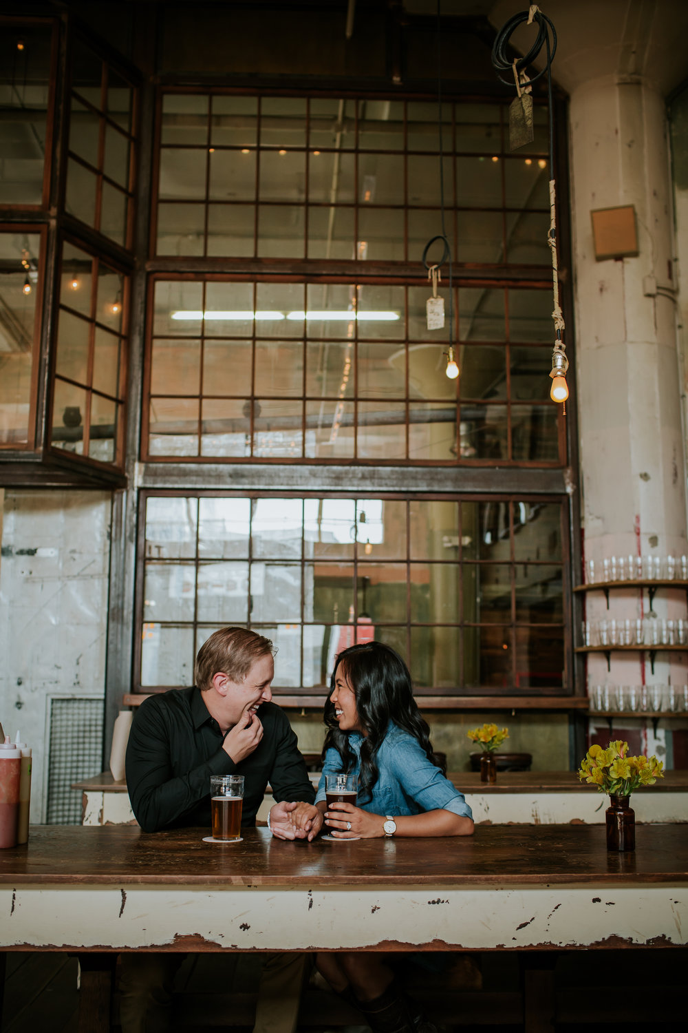 Penney and Chad San Francisco Engagament Session Brewery Mission Dolores_-7.jpg