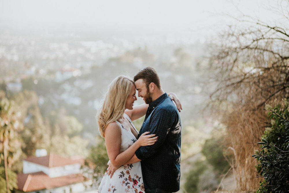 Adela and Scott Los Angeles Griffith Park Outdoor Engagement Session-8.jpg