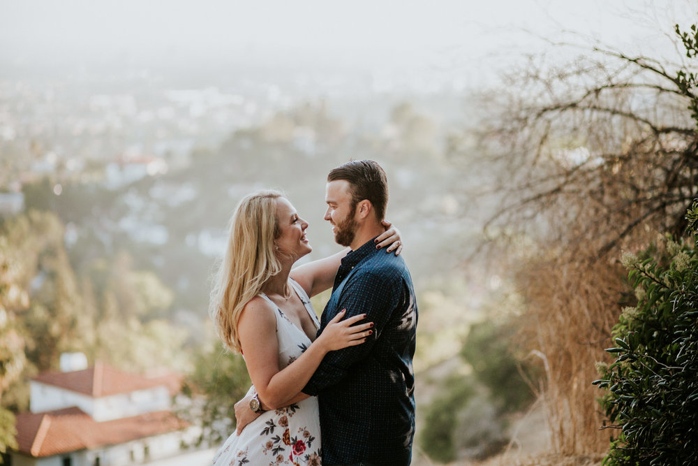 Adela and Scott Los Angeles Griffith Park Outdoor Engagement Session-9.jpg