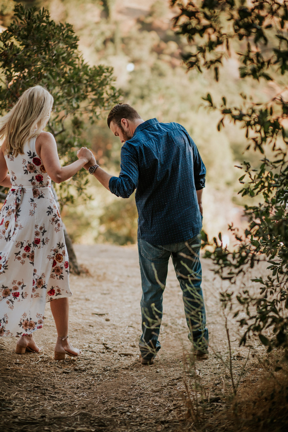 Adela and Scott Los Angeles Griffith Park Outdoor Engagement Session-16.jpg