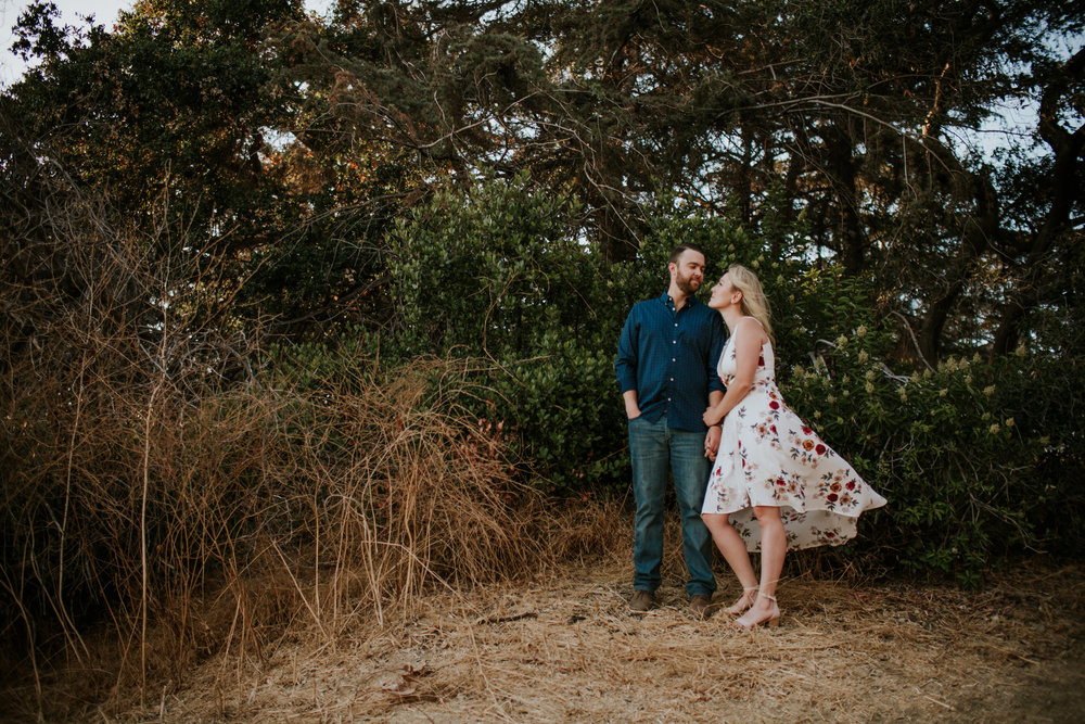 Adela and Scott Los Angeles Griffith Park Outdoor Engagement Session-23.jpg