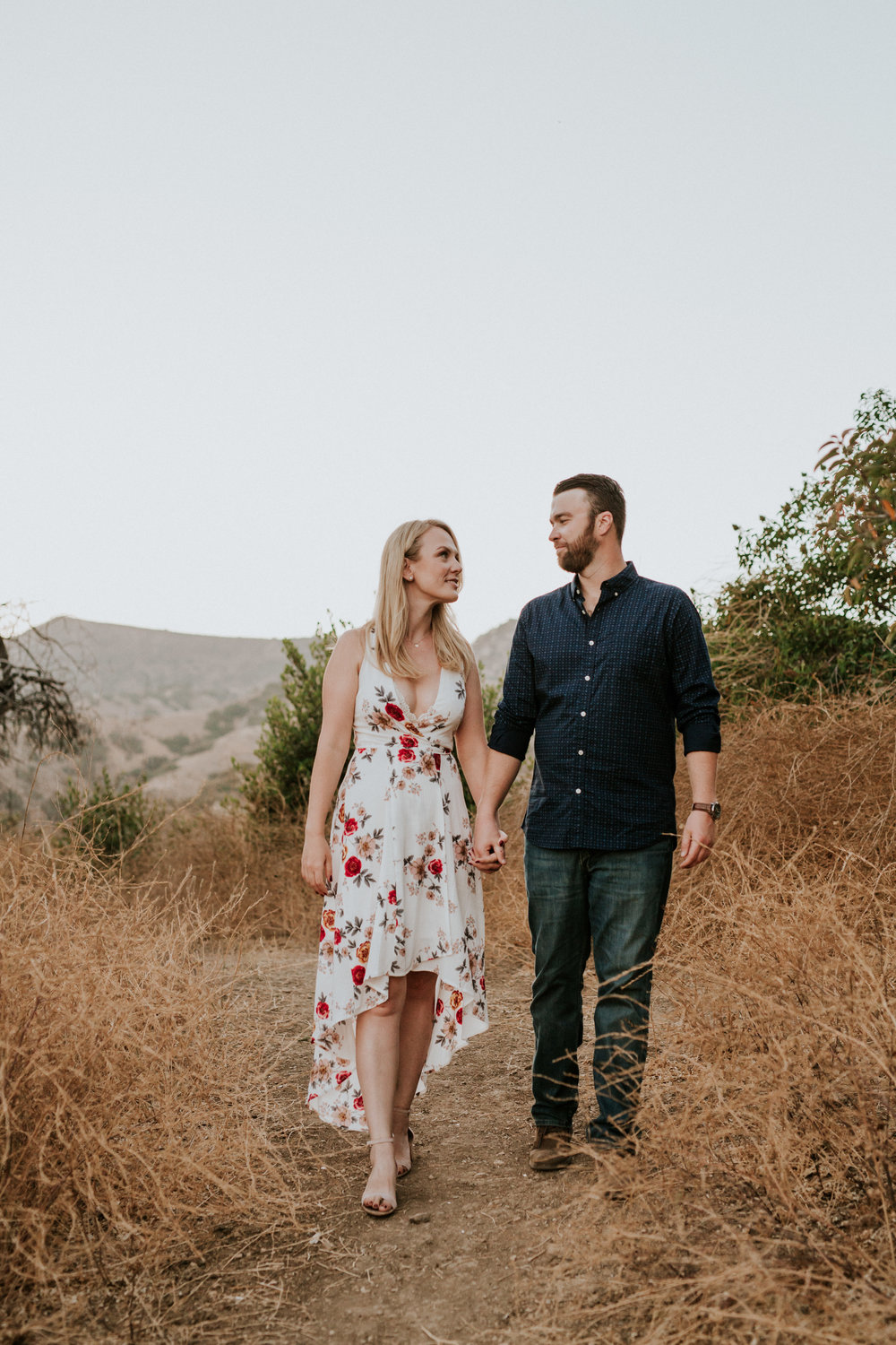 Adela and Scott Los Angeles Griffith Park Outdoor Engagement Session-111.jpg