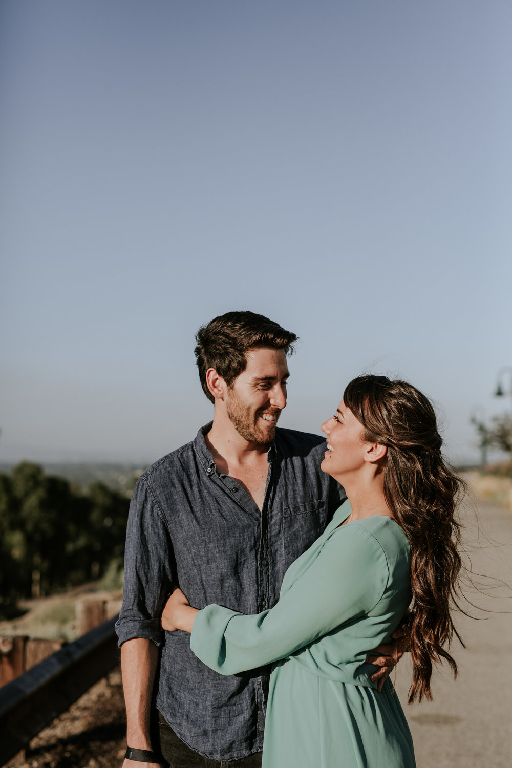 Chelseah and Esteban Long Beach Engagement Colorado Lagoon Signal Hill -44.jpg