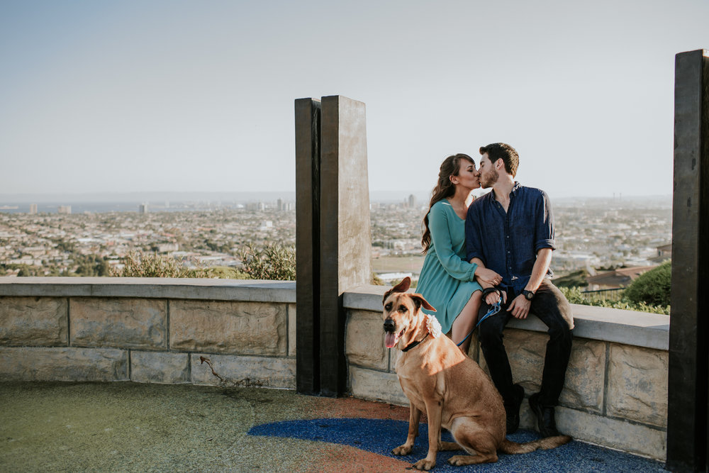 Chelseah and Esteban Long Beach Engagement Colorado Lagoon Signal Hill -65.jpg